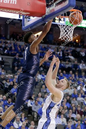Editorial photo of Georgetown Creighton Basketball, Omaha, USA - 04 Mar 2020