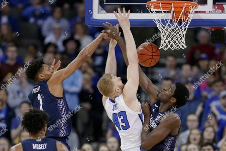 Editorial image of Georgetown Creighton Basketball, Omaha, USA - 04 Mar 2020