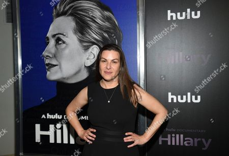 """Nanette Burstein attends the premiere of the Hulu documentary """"Hillary"""" at the DGA New York Theater, in New York"""