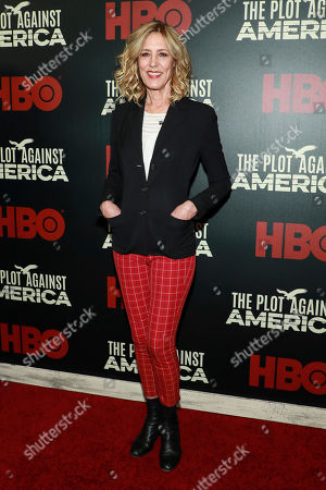 """Christine Lahti attends the premiere of HBO's """"The Plot Against America"""" at Florence Gould Hall, in New York"""