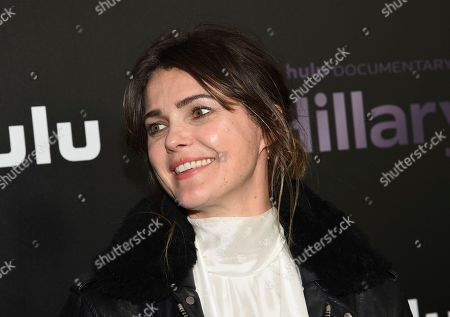 """Stock Photo of Keri Russell attends the premiere of the Hulu documentary """"Hillary"""" at the DGA New York Theater, in New York"""