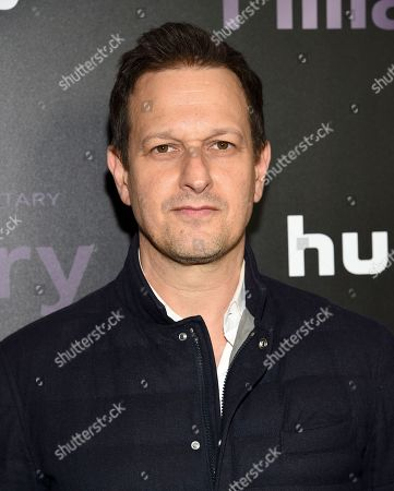 "Josh Charles attends the premiere of the Hulu documentary ""Hillary"" at the DGA New York Theater, in New York"