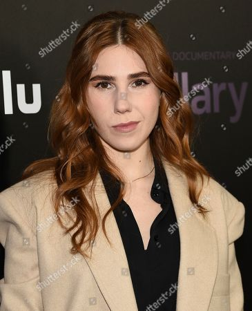 "Stock Photo of Zosia Mamet attends the premiere of the Hulu documentary ""Hillary"" at the DGA New York Theater, in New York"