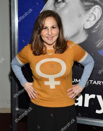 "Kathy Najimy attends the premiere of the Hulu documentary ""Hillary"" at the DGA New York Theater, in New York"