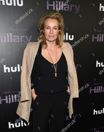 """Stock Photo of Frederique Van Der Wal attends the premiere of the Hulu documentary """"Hillary"""" at the DGA New York Theater, in New York"""