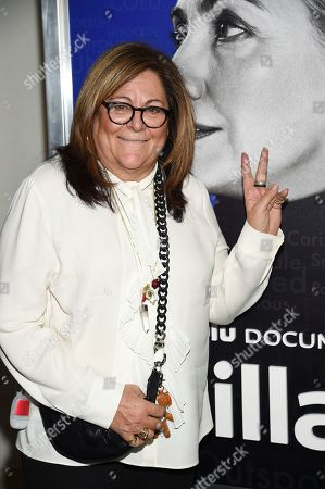 "Fern Mallis attends the premiere of the Hulu documentary ""Hillary"" at the DGA New York Theater, in New York"