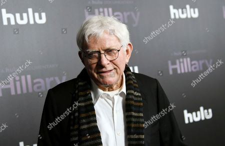 "Stock Picture of Phil Donahue attends the premiere of the Hulu documentary ""Hillary"" at the DGA New York Theater, in New York"