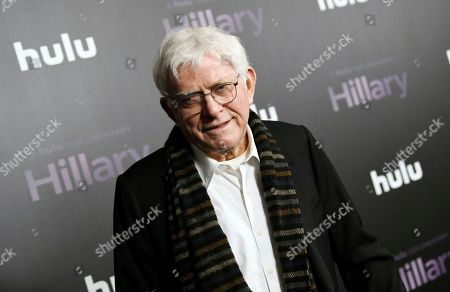 "Phil Donahue attends the premiere of the Hulu documentary ""Hillary"" at the DGA New York Theater, in New York"