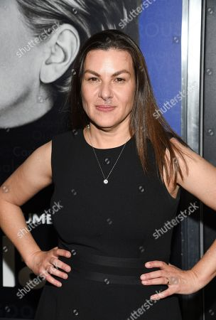 """Stock Photo of Nanette Burstein attends the premiere of the Hulu documentary """"Hillary"""" at the DGA New York Theater, in New York"""