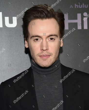 """Erich Bergen attends the premiere of the Hulu documentary """"Hillary"""" at the DGA New York Theater, in New York"""