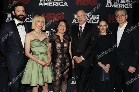 Morgan Spector, Zoe Kazan, Nina Kostroff Noble, David Simon, Winona Ryder and John Turturro