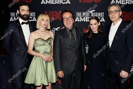Morgan Spector, Zoe Kazan, Len Amato, Winona Ryder and John Turtorro