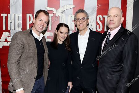 Casey Bloys, Winona Ryder, John Turtorro and David Simon