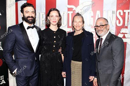 Morgan Spector, Rebecca Hall and guests