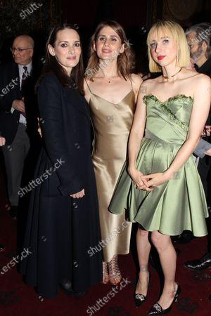 Winona Ryder, Carloine Kaplan and Zoe Kazan