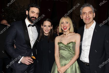 Morgan Spector, Winona Ryder, Zoe Kazan and John Turturro