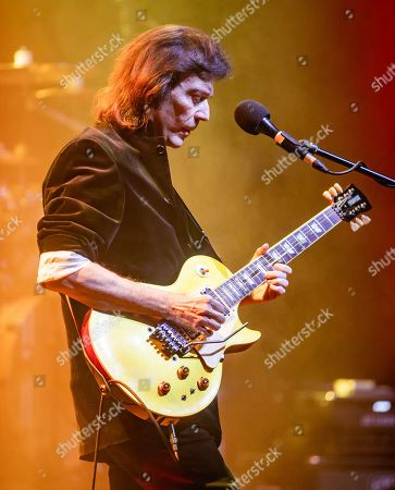 Editorial image of Steve Hackett in concert at The Fillmore Detroit, Michigan, USA - 04 Mar 2020