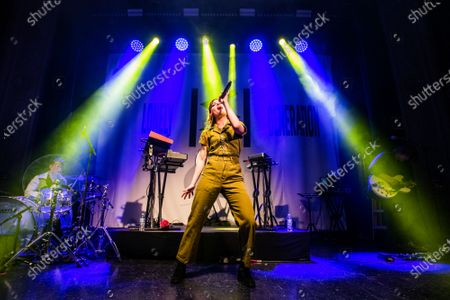 Editorial picture of Echosmith in concert at August Hall, San Francisco, USA - 03 Mar 2020