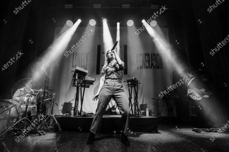 Editorial photo of Echosmith in concert at August Hall, San Francisco, USA - 03 Mar 2020