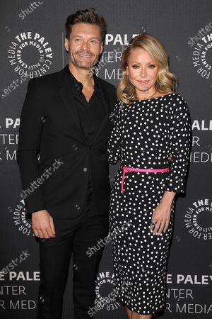 Editorial photo of Live at the Paley Center - An Evening with Kelly and Ryan, New York, USA - 04 Mar 2020