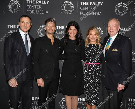 Editorial image of Live at the Paley Center - An Evening with Kelly and Ryan, New York, USA - 04 Mar 2020