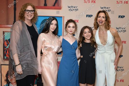 Judy Gold, Alysia Reiner, Mikey Madison, Hannah Alligood and Olivia Edward