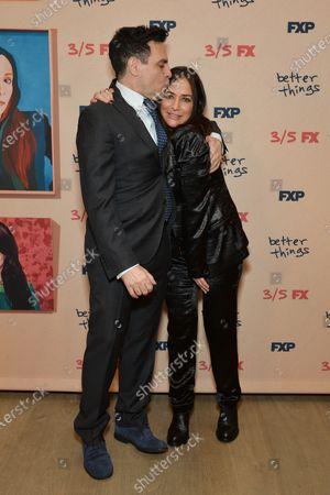 Mario Cantone and Pamela Adlon