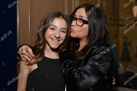 Stock Picture of Olivia Edward and Pamela Adlon