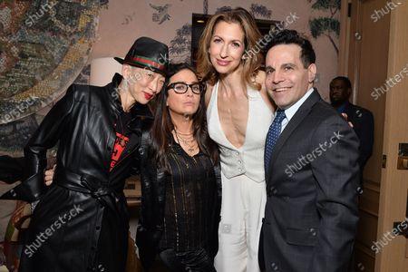 Sophia Chang, Pamela Adlon, Alysia Reiner and Mario Cantone