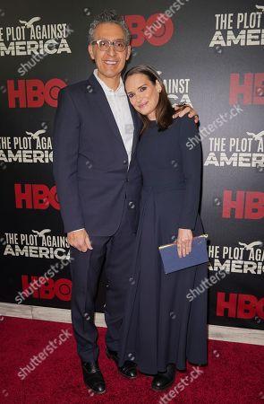John Turturro and Winona Ryder