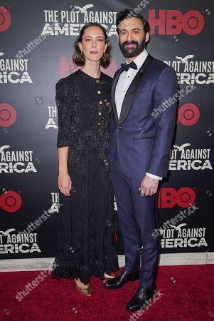 Morgan Spector and Rebecca Hall