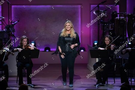 Stock Picture of Trisha Yearwood performs on stage during the 2020 Gershwin Prize Honoree's Tribute Concert at the DAR Constitution Hall, in Washington