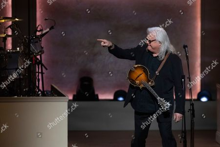 Stock Image of Ricky Skaggs performs on stage during the 2020 Gershwin Prize Honoree's Tribute Concert at the DAR Constitution Hall, in Washington