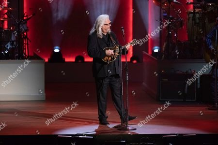 Ricky Skaggs performs on stage during the 2020 Gershwin Prize Honoree's Tribute Concert at the DAR Constitution Hall, in Washington