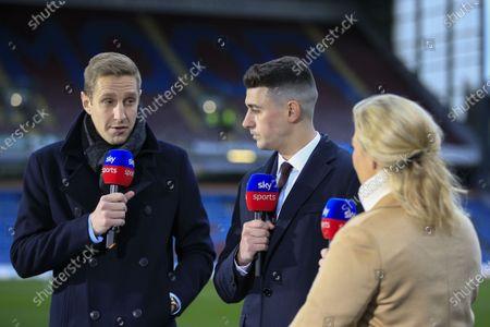 7th March 2020, Turf Moor, Burnley, England; Premier League, Burnley v Tottenham Hotspur : Sky Sports pundits Matt Dawson and Matthew Lowton