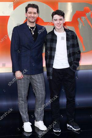 Matthew Morrison and Harrison