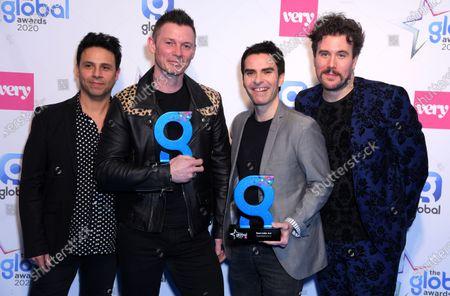 Stock Image of Stereophonics- Jamie Morrison, Adam Zindani, Kelly Jones, Richard Jones