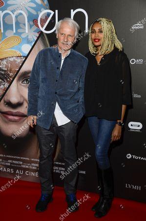 Yann Arthus-Bertrand et Imany