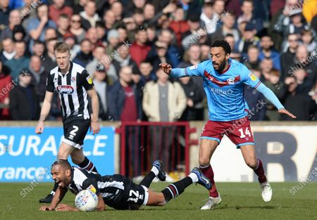 Editorial picture of Scunthorpe United v Grimsby Town, EFL Sky Bet League Two, Football, The Sands Venue Stadium, UK - 07 Mar 2020