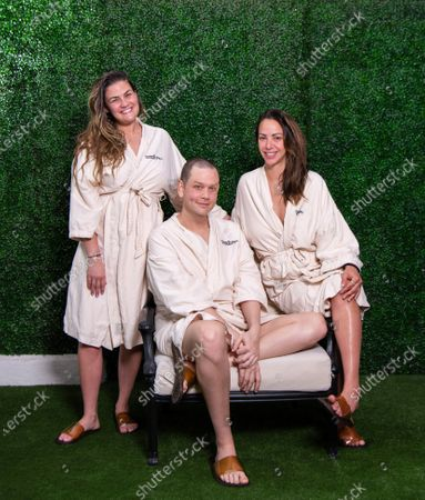 Stock Picture of Brittany Cartwright, Jared Lipscomb and Kristen Doute