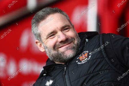 Blackpool first team coach David Dunn