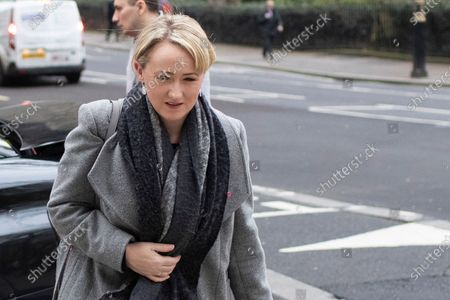Labour Party leadership contender Rebecca Long-Bailey arrives at Four Millbank.