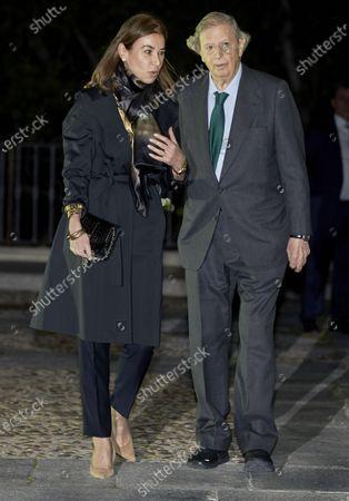 Stock Image of Carmen Posadas and Fernando Falco