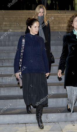 Stock Photo of Genoveva Casanova and Carolina Adriana Herrera