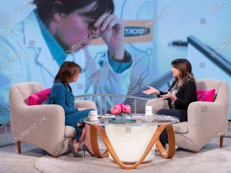 Stock Photo of Lorraine Kelly and Julie Graham