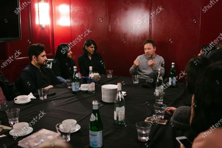 Editorial picture of BAFTA Elevate Roundtable with Stephen Graham, BAFTA Piccadilly, London, UK - 04 Mar 2020