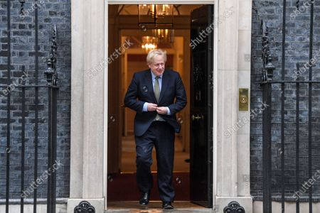 Editorial picture of President of Malta George Vella visit to London, UK - 05 Mar 2020