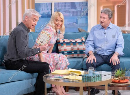 Phillip Schofield and Holly Willoughby with Alan Titchmarsh