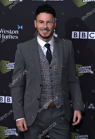 Editorial picture of London Football Awards, Roundhouse, UK - 05 Mar 2020