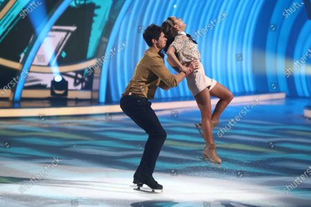 Editorial image of 'Dancing On Ice' TV show, Series 12, Episode 10, Hertfordshire, UK - 08 Mar 2020